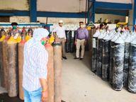વાગડ વિસ્તારમાં ઉદ્યોગો અને સેવભાવીઓની કામગીરી દર્દીઓ માટે સંજીવની સમાન બની|ભુજ,Bhuj - Divya Bhaskar