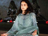 કંગના પોઝિટિવ, હર હર મહાદેવના નારા સાથે બોલી, હું વાઈરસનો ખાતમો બોલાવી દઈશ|બોલિવૂડ,Bollywood - Divya Bhaskar