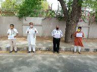 પાટણ જિલ્લા કોંગ્રેસ સમિતિ દ્વારા કોરોનાની મહામારીમાં લોકોને પડતી હાલાકીને લઈ કલેક્ટર કચેરી સામે ધરણા યોજાયા|પાટણ,Patan - Divya Bhaskar