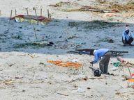 કેન્દ્રએ યુપી-બિહારને કહ્યું- ગંગામાં મૃતદેહ પ્રવાહિત પર રોક લગાવવામાં આવે, સુરક્ષિત રીતે અંતિમ સંસ્કાર થાય ઈન્ડિયા,National - Divya Bhaskar