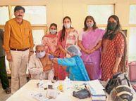 गुड़गांव में कोरोना संक्रमण ने पिछले पीक का रिकॉर्ड तोड़ा, 24 घंटे में 1084 नए केस मिले|गुड़गांव,Gurgaon - Dainik Bhaskar
