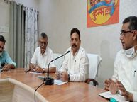 स्टांप पंजीयन मंत्री रवींद्र जायसवाल बोले- दिसंबर तक पूरे प्रदेश के जमीन संबंधी सभी रिकार्ड होंगे डिजिटल प्रयागराज (इलाहाबाद),Prayagraj (Allahabad) - Money Bhaskar