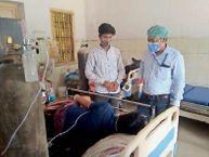 सर, दो नंबर कमरे का मरीज जोर-जोर से सांस ले रहा है, बिना पीपीई किट पहने पहुंचे डॉक्टर, बाेले- जाओ, बाहर से कोई सूई लेकर आओ समस्तीपुर,Samastipur - Dainik Bhaskar