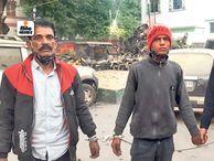 दिल्ली की दुकान से 4 करोड़ के जेवर की लूट में शामिल बाप-बेटा गिरफ्तार, सोने के 8 कंगन मिले|पटना,Patna - Dainik Bhaskar