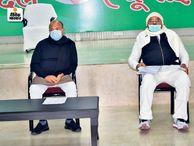 आरसीपी बोले- विपक्ष के दुष्प्रचार व अफवाहों का जवाब देने को तैयार रहें कार्यकर्ता|पटना,Patna - Dainik Bhaskar