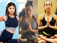 शिल्पा शेट्टी से मलाइका अरोड़ा तक, बॉलीवुड की फेमस एक्ट्रेसेस खुद को योग के जरिए रखती हैं फिट|बॉलीवुड,Bollywood - Money Bhaskar