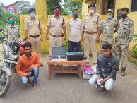 कलर प्रिंटर से छापते थे 100, 200 और 500 के नोट; जगदलपुर में खपाने जा रहे 2 युवकों को पुलिस ने गिरफ्तार किया, 78 हजार के जाली नोट जब्त छत्तीसगढ़,Chhattisgarh - Money Bhaskar