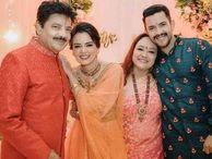 આદિત્ય નારાયણ તથા શ્વેતા અગ્રવાલના લગ્નની વિધિ શરૂ, સૌ પહેલા તિલક સેરેમની થઈ|ટીવી,TV - Gujarati News