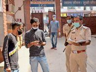 प्रगति नर्सिंग हाेम में संक्रमित मरीज की हुई माैत, हंगामा कर परिजनों का आरोप; वेंटिलेटर नहीं दिया|धनबाद,Dhanbad - Dainik Bhaskar