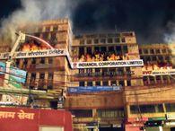 लोकनायक भवन में आग, इंडियन ऑयल का ऑफिस जला; करोड़ों का नुकसान|पटना,Patna - Dainik Bhaskar