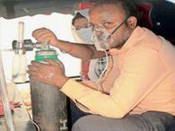 जमशेदपुर के अस्पतालों में बेड फुल, ऑक्सीजन का सिलेंडर टेंपों में लाद तीन घंटे घूमते रहे दंपती जमशेदपुर,Jamshedpur - Dainik Bhaskar
