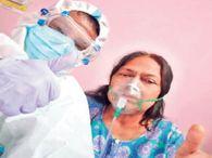 तौहिद ने घर पर ही पत्नी-पिता का इलाज कर कोरोना से बचाया, ऑक्सीजन भी खुद दिया|रांची,Ranchi - Dainik Bhaskar