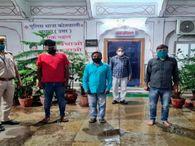 किराए के फ्लैट में कॉल सेंटर से सब इंस्पेक्टर बनकर करते थे कॉल, गिरफ्तारी वारंट जारी होने का डर दिखाकर मांगते थे मोटी रकम|जयपुर,Jaipur - Dainik Bhaskar