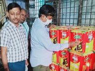 जयपुर में 3 फर्म पर मारा छापा, सैंपल लेकर 988 लीटर सरसों का तेल किया सील, बिना बिल के मंगा रहे माल|जयपुर,Jaipur - Money Bhaskar