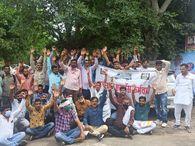 एनएचएम निदेशक को पत्र सौंपकर समय पर सैलेरी देने की मांग, आश्वासन के बाद एक महीने के लिए टली हड़ताल|जयपुर,Jaipur - Money Bhaskar