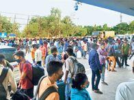 मुंबई से 1600 यात्रियों को लेकर हटिया पहुंची स्पेशल ट्रेन, जिला प्रशासन ने 540 की ही कराई कोरोना जांच|रांची,Ranchi - Dainik Bhaskar