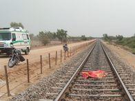 ट्रैक पर पहले से ही खड़ा था, सामने से आ रही गाड़ी से कटकर दे दी जान, परिजनों ने कहा- तनाव में था|नागौर,Nagaur - Dainik Bhaskar