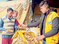 फार्मेसी सिविल इंजीनियरिंग, बीएससी के छात्रों ने लंगर सेवा करने वाले किसानों को परिवार से मिलने घर भेजा|करनाल,Karnal - Dainik Bhaskar