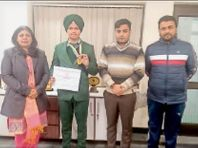 सिमिगो स्कूल के छात्र प्रभजोत सिंह ने राइफल शूटिंग में जीते दो गोल्ड मेडल|अबोहर,Abohar - Dainik Bhaskar