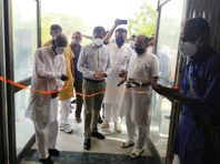 30 बेड के कोविड केयर सेन्टर का विधायक ने किया शुभारम्भ, हर वार्ड में संगीत और योग जैसी सुविधाएं|राजस्थान,Rajasthan - Dainik Bhaskar