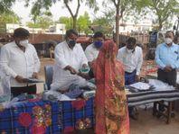 भाजपा सेवा ही संगठन अभियान के तहत 82 सफाई कर्मियों को किया सम्मानित|राजस्थान,Rajasthan - Dainik Bhaskar
