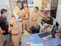 चाेराें ने पहले सीसीटीवी बंद किए; एग्जास्ट फैन हटा अंदर घुसे, मिला कुछ नहीं|श्रीगंंगानगर,Sriganganagar - Dainik Bhaskar