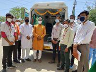 શિહોરી સામુહિક આરોગ્ય કેન્દ્રને કોવિડ હોસ્પિટલ જાહેર કરતાજ કોરોના દર્દી માટે સ્પેશ્યલ એમ્બ્યુલન્સ સેવા શરૂ કરવામાં આવી|પાલનપુર,Palanpur - Divya Bhaskar