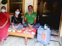 ઊંઝામાં ઓક્સિજન મશીન વિનામૂલ્યે ઘરે પહોંચાડાય છે, મિત્રનું મોત થતા 18 મિત્રોએ શરૂ કરેલુ કામ સેવા યજ્ઞ બન્યુ|મહેસાણા,Mehsana - Divya Bhaskar