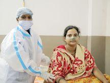 MPના ઝાબુઆની સગર્ભા મહિલાનું પિયર બની દાહોદની ઝાયડ્સ હોસ્પિટલ, કોરોના સંક્રમિત સગર્ભા મહિલાનું પરિવારની માફક રખાઈ રહી છે કાળજી|દાહોદ,Dahod - Divya Bhaskar