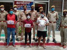 जीजा की मदद से लूटकांड को अंजाम दिया, 3 साथियों समेत गिरफ्तार; दो साथियों की तलाश अभी भी जारी|लखनऊ,Lucknow - Money Bhaskar