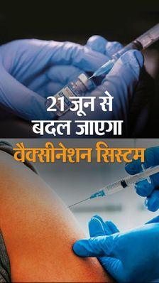 21 जून से वैक्सीनेशन की नई गाइडलाइन लागू होगी, जानिए किस तरह बदलेगा वैक्सीनेशन का पूरा सिस्टम