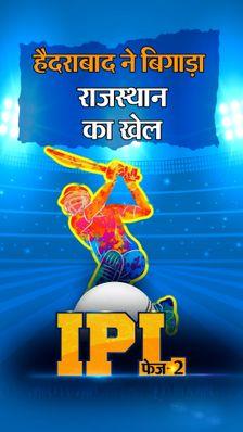 बेकार गई सैमसन की कप्तानी पारी, चार हार के बाद हैदराबाद को मिली पहली जीत; रॉय-विलियम्सन ने लगाई फिफ्टी