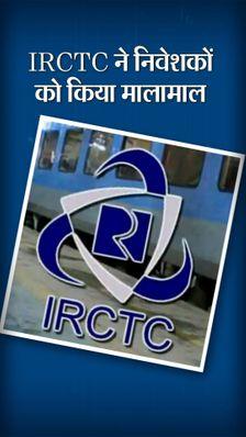 IRCTC ने 100 रुपए के निवेश को किया 2000, मार्केट कैप 1 लाख करोड़