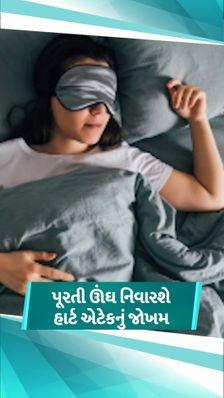 અકાળે હાર્ટ ફેલ્યોરથી બચવું હોય તો રોજ 8 કલાકની ઊંઘ લો, અમેરિકામાં થયેલા સ્ટડીએ ઊંઘનું મહત્ત્વ સમજાવ્યું