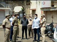 સુરેન્દ્રનગરના લીંબડીમાં કોરોનાનું સંક્રમણ વધતા કલેકટર અને એસપીએ શહેરની મુલાકાત કરી|સુરેન્દ્રનગર,Surendranagar - Divya Bhaskar