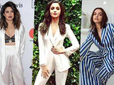 દીપિકાથી લઈને પ્રિયંકા ચોપડા સુધી, આ બૉલિવૂડ એક્ટ્રેસીસથી લઈને ઑફિસના ફોર્મલ લુકની પ્રેરણા|ફેશન,Fashion - Divya Bhaskar