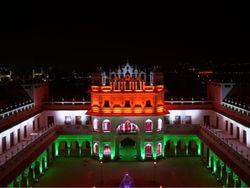 पहली बार तिरंगे के रंग में झिलमिलाया; लाइट के कॉम्बिनेशन से जगमग, वीडियो और फोटो में देखे खूबसूरती|भोपाल,Bhopal - Dainik Bhaskar