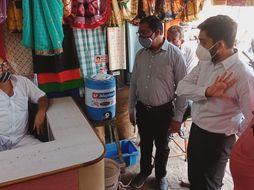 પાટણમાં ભયજનક રીતે વધી રહેલ કોરોના સંક્રમણને અટકાવવા પાલિકા કટિબદ્ધ બની પાટણ,Patan - Divya Bhaskar