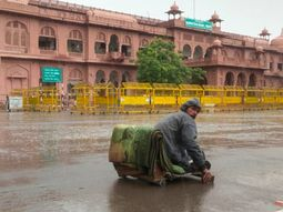 दो दिन से ठहरा हुआ है मानसून लेकिन जयपुर-बीकानेर में प्री मानसून से झमाझम|राजस्थान,Rajasthan - Money Bhaskar
