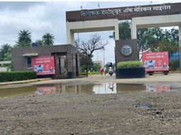 सिम्स से लेकर नगरनिगम योजना ऑफिस के बाहर जमा है बारिश का पानी, यहां भी डेंगू का लार्वा पनपने की है संभावना छिंदवाड़ा,Chhindwara - Money Bhaskar