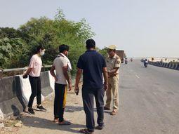 ग्रेटर नोएडा से बेंगलुरू भेजे गए थे, बदमाशों ने कैंटर ड्राइवर को MP में फेंका|मथुरा,Mathura - Money Bhaskar
