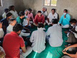 કોરોના સંક્રમણ વધતા પાટડી ખારાપાટ પરગણા સમાજના બપોરા-બેસણા બંધ|સુરેન્દ્રનગર,Surendranagar - Divya Bhaskar
