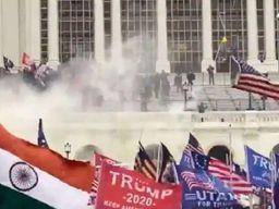 अमेरिकी सांसद कोरोना और मौतों को भूल दंगे और ट्रम्प की चर्चा में जुटे|विदेश,International - Dainik Bhaskar
