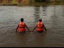 अंबाड़ा में गणेश प्रतिमा का विसर्जन करने गहरे पानी में गया युवक वापस नहीं आया, न्युटन में दोस्तों के साथ नहाने गया युवक डूबा, पुलिस ने शुरू किया रेस्क्यु छिंदवाड़ा,Chhindwara - Money Bhaskar