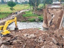 वैकल्पिक मार्ग तैयार करते ही रात में इंदौर नगर निगम ने लगाया था अमला|इंदौर,Indore - Money Bhaskar