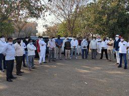 ચાલો સાથે મળીને મહામારીને મારીએ: ધારાસભ્યે સર્વે સમાજના આગેવાનો સાથે બેઠક યોજી|હળવદ,Halvad - Divya Bhaskar