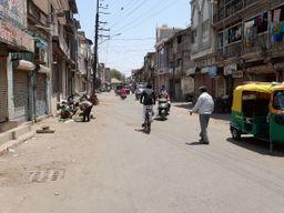ભાવનગર શહેરમાં ચાર સ્થળોએ ભરાતી રવિવારી બજાર સંપૂર્ણ બંધ, પણ દુકાનો ખુલ્લી|ભાવનગર,Bhavnagar - Divya Bhaskar