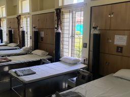 વલસાડના ધરમપુરમાં શ્રીમદ્દ રાજચંદ્ર હોસ્પિટલ કોવિડ કેરનું રાજ્યપાલના દ્વારા લોકાર્પણ કરાયું|વલસાડ,Valsad - Divya Bhaskar