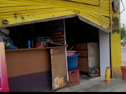 हजारों की नकदी व खाने का सामान चोरी, ताले टूटे ही नहीं, सीधे शटर ही उठा डाला|बांसवाड़ा,Banswara - Dainik Bhaskar