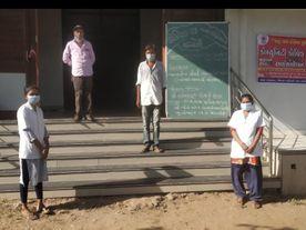 મહેસાણા જિલ્લાના ગ્રામ્ય વિસ્તારમાં કાર્યરત કરાયેલા કોવિડ સેન્ટરમાં 211 દર્દી સારવાર હેઠળ મહેસાણા,Mehsana - Divya Bhaskar